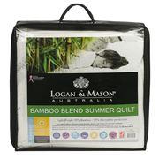 Logan & Mason - Bamboo Blend Summer Quilt Single