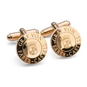 Faber-Castell - Gold Plated Round Cufflinks