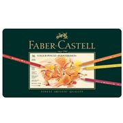 Faber-Castell - Polychromos Colour Pencil Tin Set 36pce