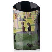 Silhouette d'Art - Seurat La Grande Jatte Vase