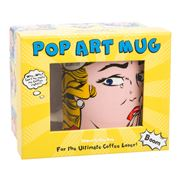 AT - Pop Art Mug Why Can't He Make My Coffee Right!