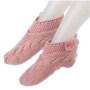 AT - Slouchy Pink Slippers