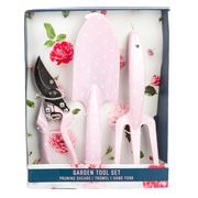 AT   Garden Tools Polkadot Pink Set 3pce