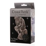 Games - 3D Crystal Jigsaw Puzzle The Thinker