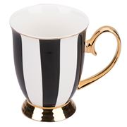 Cristina Re - Signature High Tea Collection Mug Ebony Stripe