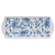 Ashdene - Indigo Blue Hummingbird Sandwich Serving Tray