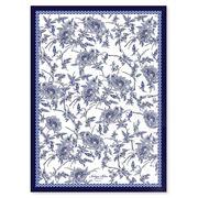 Ashdene - Indigo Blue Hummingbird Tea Towel