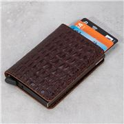 Secrid - Nile Leather Brown Slim Wallet