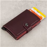 Secrid - Original Leather Bordeaux Mini Wallet