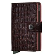 Secrid - Nile Leather Brown Mini Wallet