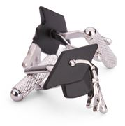 Onyx-Art - Graduation Cap Cufflinks