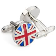Onyx-Art - Union Jack Cufflinks