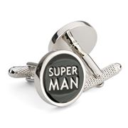 Onyx-Art - Super Man Cufflinks