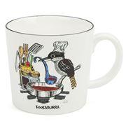 Squidinki - Kookaburra Porcelain Mug