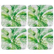 Ashdene - Paradise Fronds Coaster Set 4pce