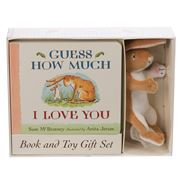 Book - Guess How Much I Love You Book And Toy Set 2pce