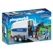 Playmobil - Police w/ Horse & Trailer