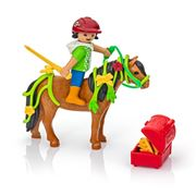 Playmobil - Groomer With Bloom Pony