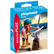 Playmobil - Pirate With Cannon Playset 5pce