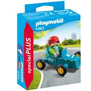 Playmobil - Boy With Go-Kart Playset 2pce