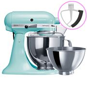 KitchenAid - Artisan KSM160 Ice Stand Mixer + Flex Beater