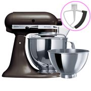 KitchenAid - Artisan KSM160 Truffle Mixer + Flex Beater