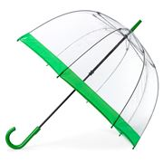 Clifton - Birdcage Umbrella with Emerald Green Border