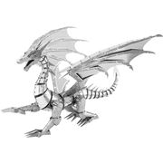 Metal Earth - ICONX Silver Dragon 5pce
