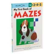 Book - My First Book Of Mazes