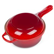 Le Creuset - Cerise Red Signature Cast Iron 2-in-1 Pan 22cm