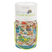 Crocodile Creek - Busy City Floor Puzzle 50pce