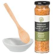 Random Harvest - Bowl & Bag Capsicum Mustard Set