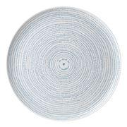 Royal Doulton - Ellen Degeneres Dots Platter 32cm Polar Blue