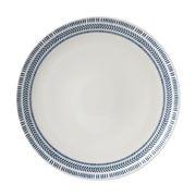 Royal Doulton - Ellen Degeneres Chevron Plate 28cm Dark Blue