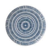 Royal Doulton - Ellen Degeneres Chevron Plate 21cm Dark Blue