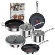 Tefal - Reserve Collection Tri-ply Cookware Set 5pce Bundle