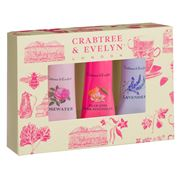 Crabtree & Evelyn - Floral Hand Therapy Set 3pce