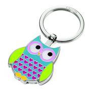 Troika - Rosy Owl Keyring