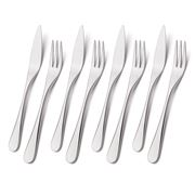 Robert Welch - Facet Bright Stainless Steel Fish Set 8pce