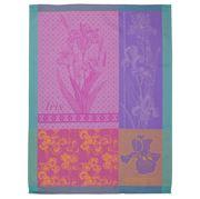 Garnier-Thiebaut - Iris Violine Tea Towel
