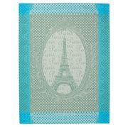 Garnier-Thiebaut - Eiffel Vintage Celadon Tea Towel