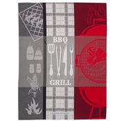 Garnier-Thiebaut - BBQ Charcoal Tea Towel