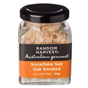 Random Harvest - Oak Smoked Snowflake Salt 60g
