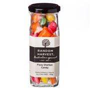 Random Harvest - Fizzy Sherbert Rock Candy 170g