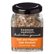 Random Harvest - Oak Smoked Salt & Pepper 60g