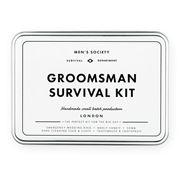 Men's Society - Groomsman Survival Kit