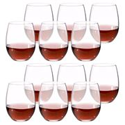 S & P - Borello Stemless Wine Glass Set 12pce