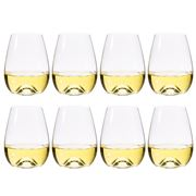S & P - Polo Stemless Wine Glass Set 8pce