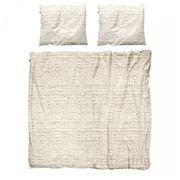 Snurk - Beige Twirre Double Quilt Cover Set