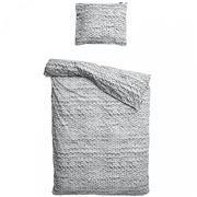 Snurk - Twirre Single Quilt Cover Set Grey